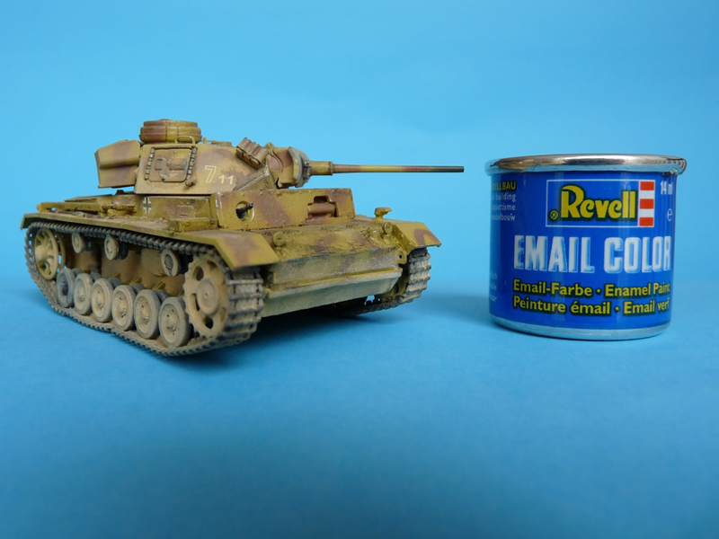 1/72 Pz III Ausf. L, Dragon kit 7385