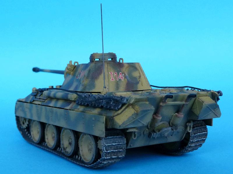 Zvezda 1/72 PzKpfw V Panther Ausf D, kit 5010