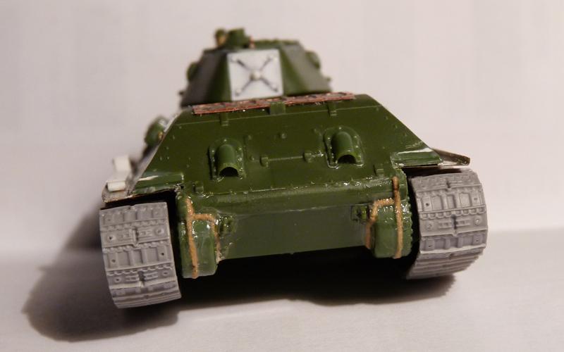 Rear turret wall, rear hull