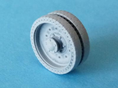 OKB Grigorov's early 10-bolt wheels