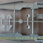 Eduard 1/48 Bf-109G-6, fuselage parts - inside