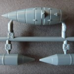 Eduard 1/48 Bf-109G-6, fuel tank and bomb