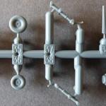 Eduard 1/48 Bf-109G-6, tail wheels and legs
