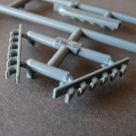 Eduard 1/48 Bf-109G-6, opened exhaust pipes