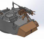 OKB Grigorov M24 Chaffee Turret Bin