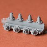 Return roller supports for KV-4 (Duhov)
