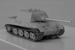 Jagdtiger (Porsche) on 1/72, Trumpeter